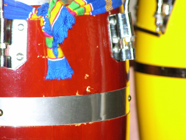 Congas em cores - Congas in colors