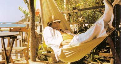 Vasco on hammock